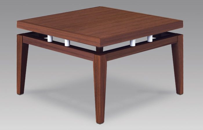 Artist Square Floating Top Office Table