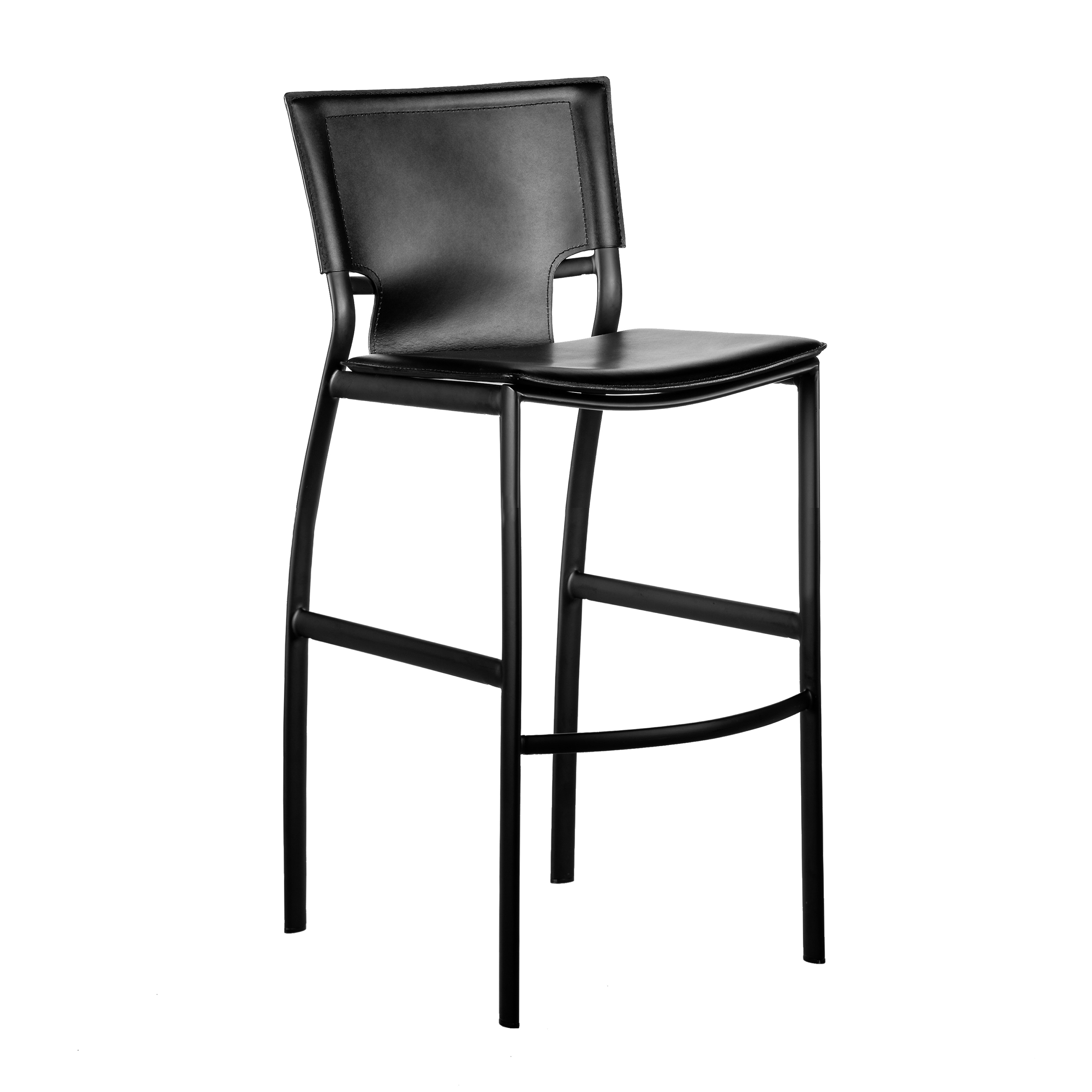 Vinnie Bar Chair Black Right