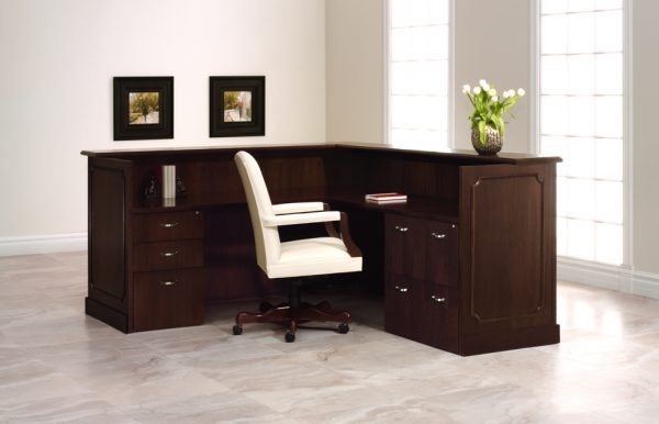 Cameo reception approach furniture user side